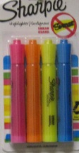 Highlighter Sharpie 4 Pk 25174