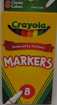 Crayola 8 Small Markers