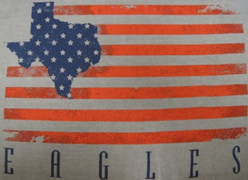 Shirt Us Flag W/ Texas L/S Grey (SKU 105411041021)