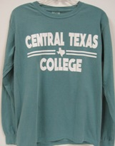 Long Sleeve T/S Central Tx With Lines