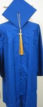 "Cap & Gown Set 5'0""-5'2"""