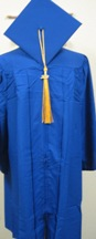 "Cap & Gown Set 5'3""-5'5"""