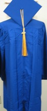 "Cap & Gown Set 5'6""-5'8"""