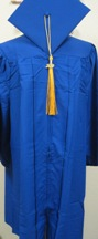 "Cap & Gown Set 5'9""-5'11"""