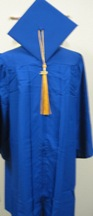 Cap & Gown Set X3