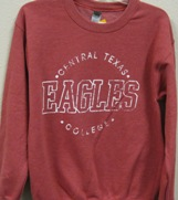 Sweatshirt Eagles Red