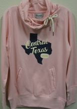 Pullover Ladies Tx Script Rose